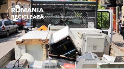 Asociația Environ a colectat și reciclat 23.000 tone deșeuri electrice în 2019