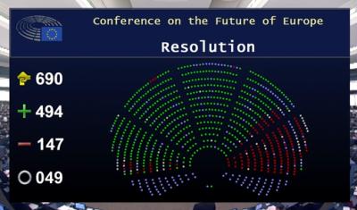 Europarlamentarii puterii guvernamentale din România s-au opus reprezentării societății civile la Conferința privind Viitorul Europei