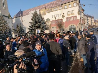 Cel mai important protest al comunității rome din Târgu Mureș