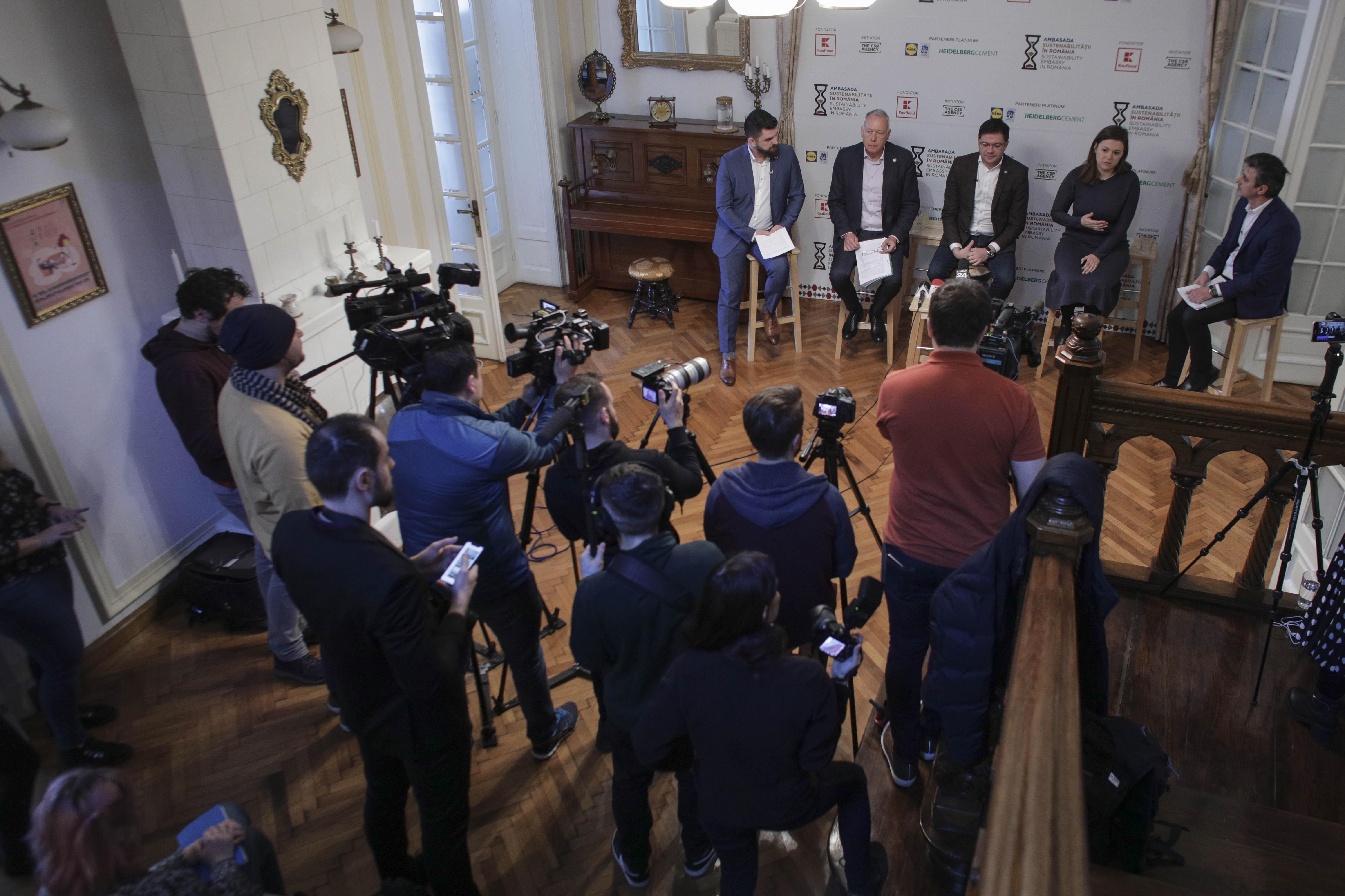 Ministrul Mediului, la Ambasada Sustenabilității în România: Vom introduce în România sistemul garanției pe ambalajele reciclabile