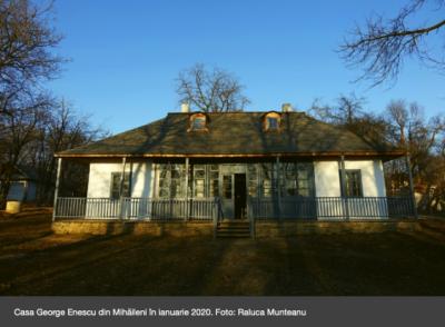 Casa George Enescu din Mihăileni, de la ruină la centru educațional