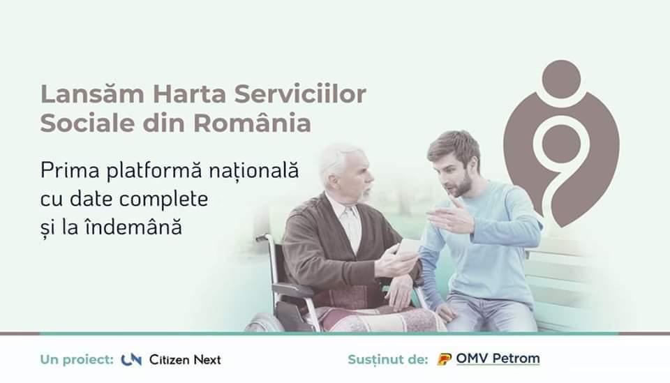 Se lansează platforma Harta Serviciilor Sociale din România