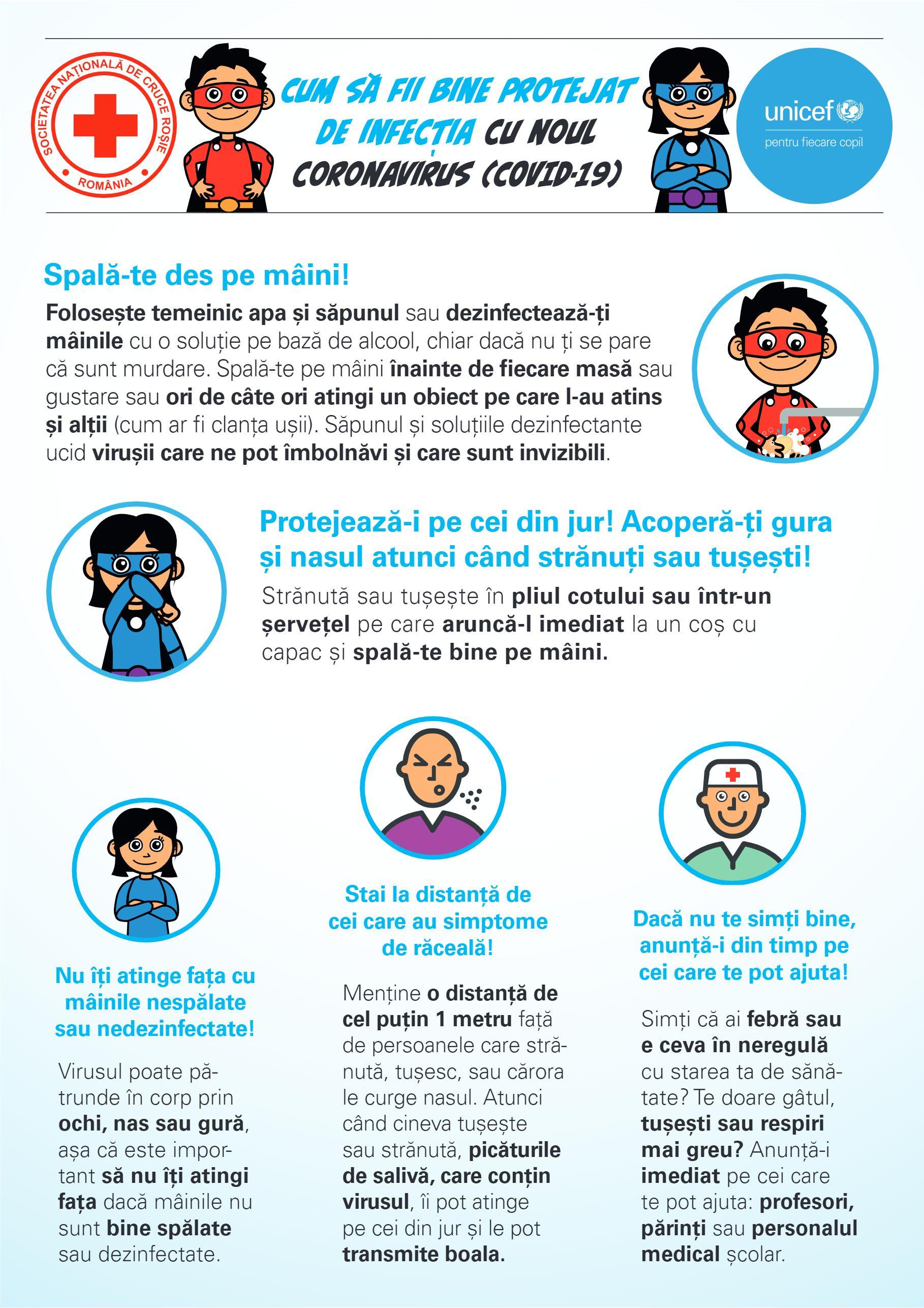 UNICEF: Copiii sunt expuși unui risc crescut de abuz, neglijare, exploatare și violență pe fondul intensificării măsurilor de izolare în contextul COVID-19