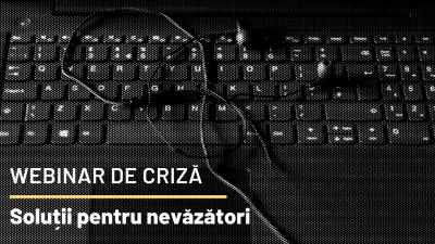 Webinar de criză - Soluții pentru nevăzători