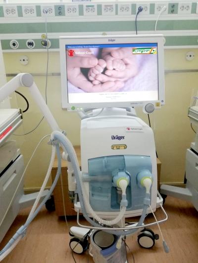 Spitalul Universitar de Urgență București și alte patru spitale primesc echipamente și aparatură medicală vitale de la Salvați Copiii