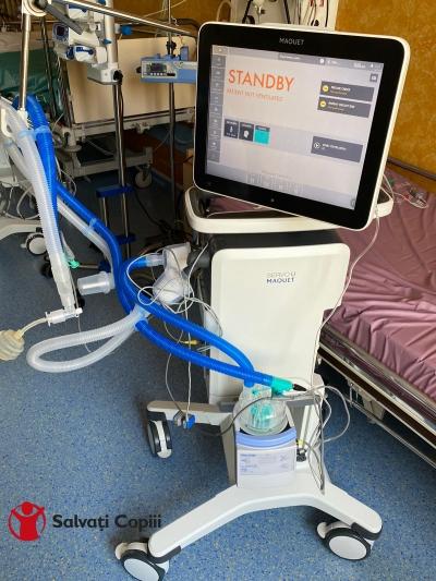 Spitalul Grigore Alexandrescu a primit ventilatorul de suport respirator de care avea nevoie