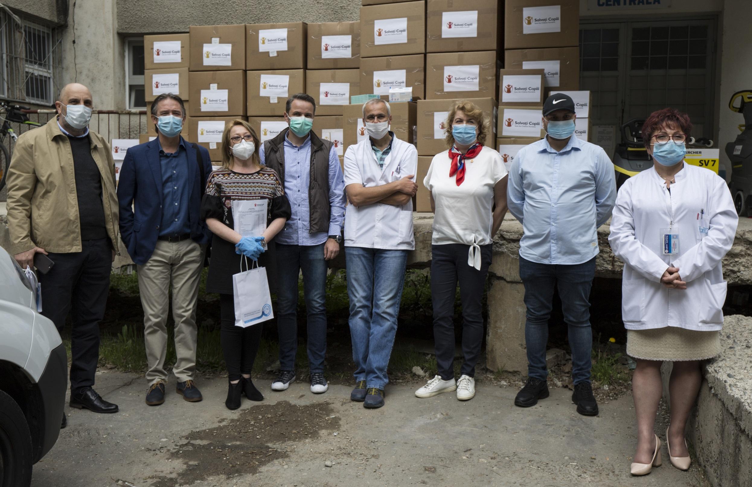 Salvați Copiii a mobilizat fonduri pentru echiparea urgentă a Institutului de Urgență pentru Boli Cardiovasculare și Transplant din Târgu Mureș