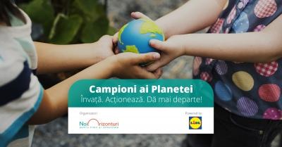 Campioni ai Planetei – elevii și profesorii români, provocați să ia parte la  un proiect global
