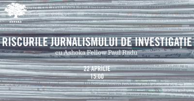 Paul Radu, Ashoka Fellow - primul român care câştigă Premiul Skoll pentru Antreprenoriat Social