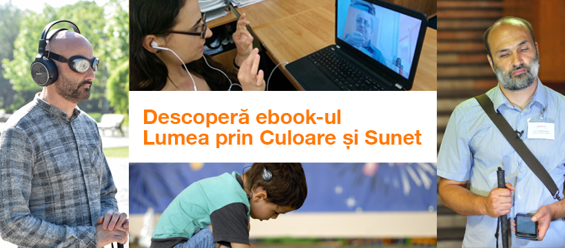 """Fundația Orange lansează primul e-book """"Lumea prin Culoare și Sunet�"""