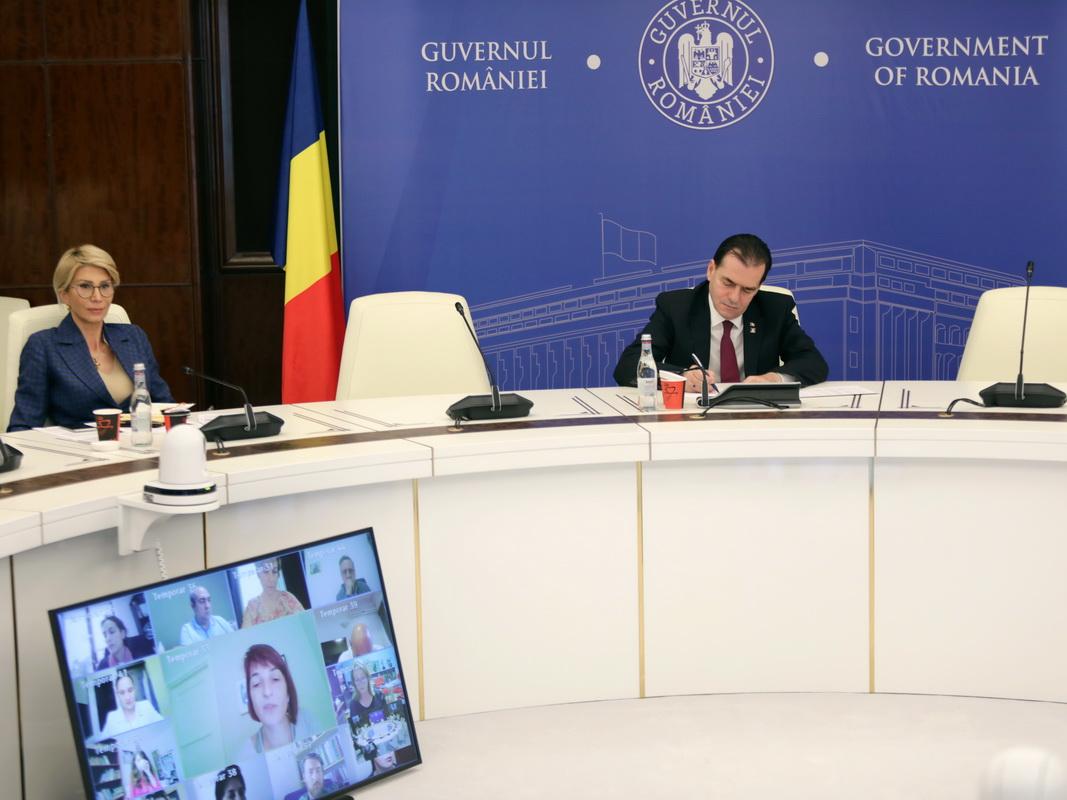 Întâlnirea premierului Ludovic Orban cu un grup de ONG-uri - informarea FDSC