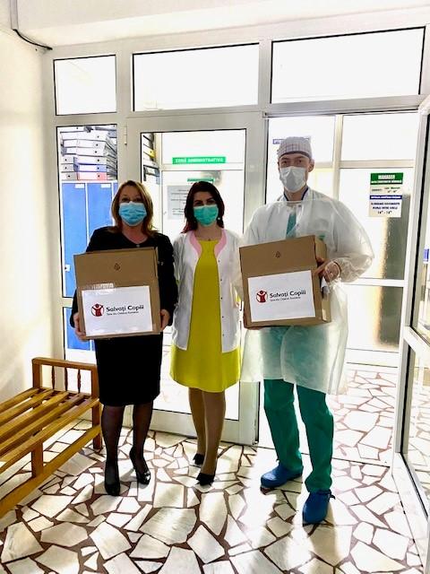 Spitalul Județean din Focșani primește echipamente și aparatură medicală de la Salvați Copiii