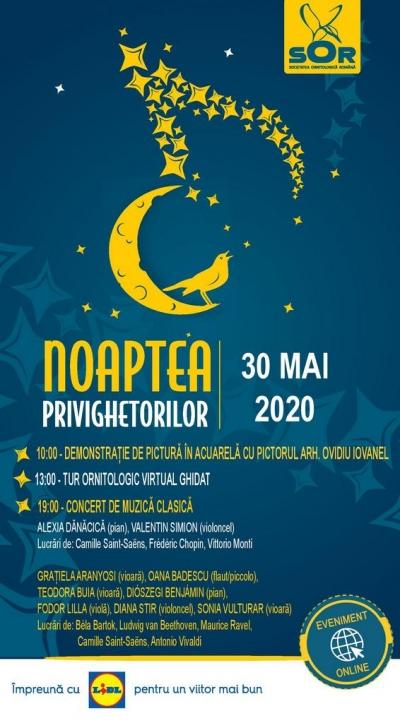 Noaptea Privighetorilor – ediția 2020