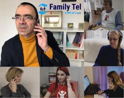 Părinți ai căror copii au întrerupt terapia în starea de urgență, mame singure, bunici care își cresc nepoții - cine a cerut sprijin la Family Tel