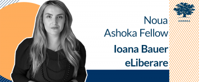 Ashoka a selectat încă un român în cea mai mare rețea de inovatori sociali din lume: Ioana Bauer, președinte eLiberare