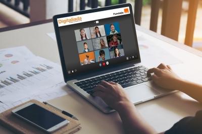 Videoconferințe gratuite pe platforma Învățare și testare online a Digitaliada