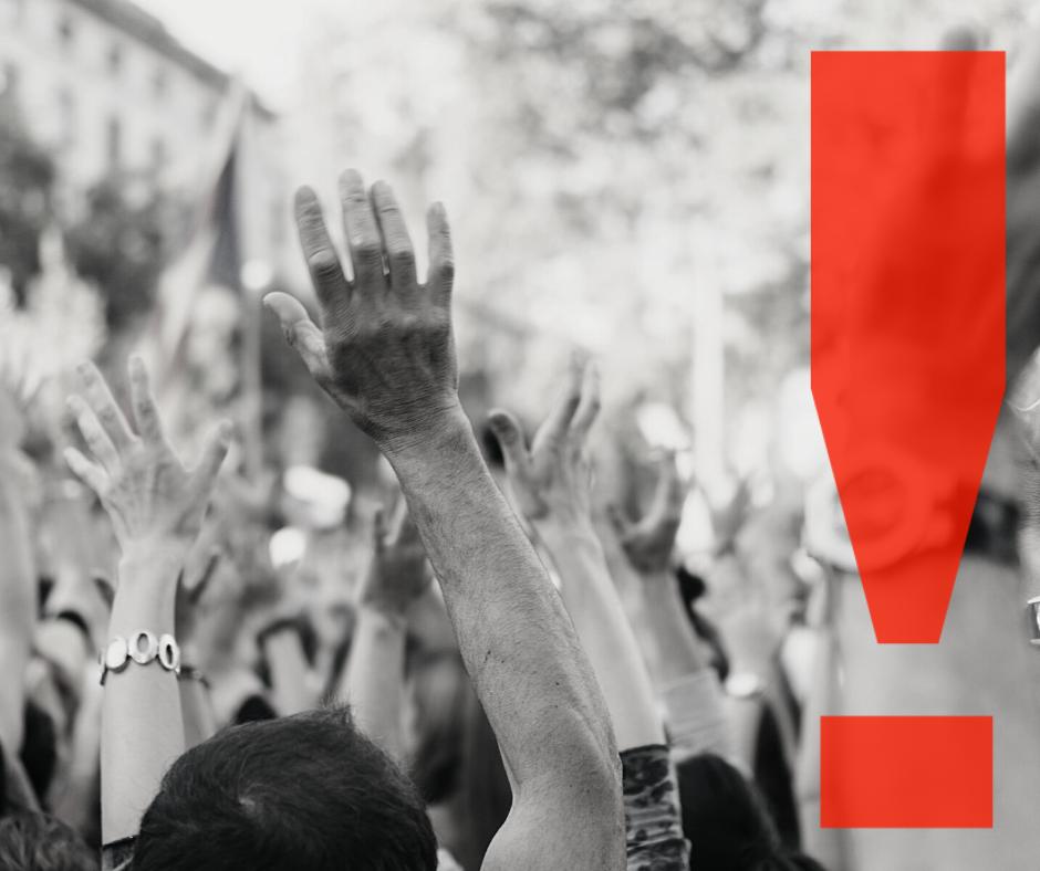 Solicităm măsuri care să permită exercitarea drepturilor la adunări publice