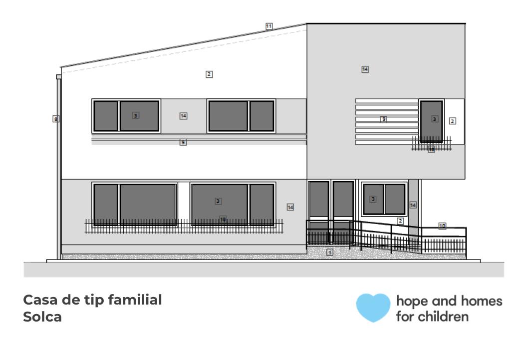 Hope and Homes for Children dotează cu instalații sanitare, în parteneriat, o casă de tip familial din județul Suceava