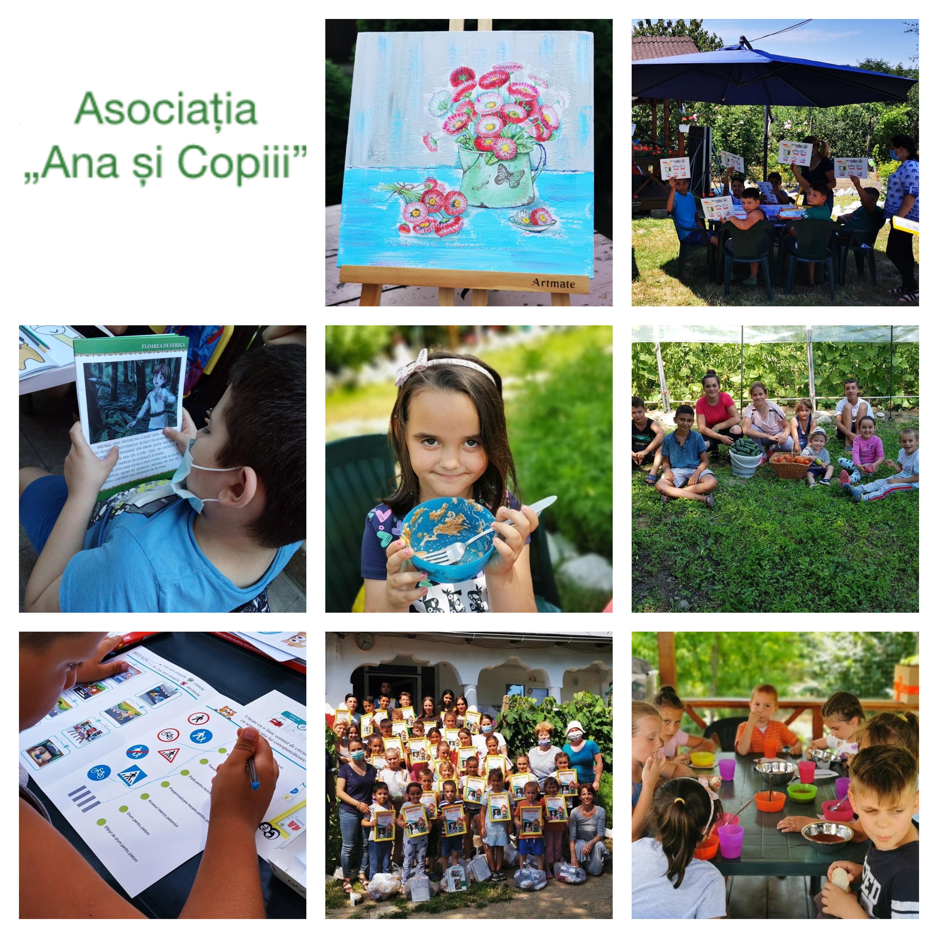 Asociația Ana și Copiii a dat startul Școlii de vară pentru alfabetizarea digitală a atât a copiilor, cât și a părinților din familii vulnerabile