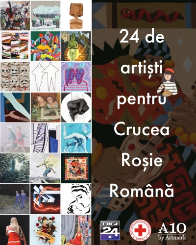 �Frumusețea salvează lumea� - Licitația de Artă Contemporană și Postbelică, cu o secțiune caritabilă dedicată Crucii Roșii Române
