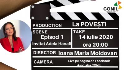 La POVEȘTI, noul proiect al Asociației CONIL alături de jurnalista Ioana Maria Moldovan se lansează în 14 iulie