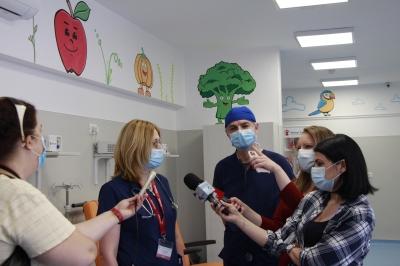 Investiție majoră pentru dotarea Compartimentului de Primiri Urgențe (CPU) al INSMC Alessandrescu-Rusescu: Salvați Copiii a alocat fonduri de 100.000 de euro