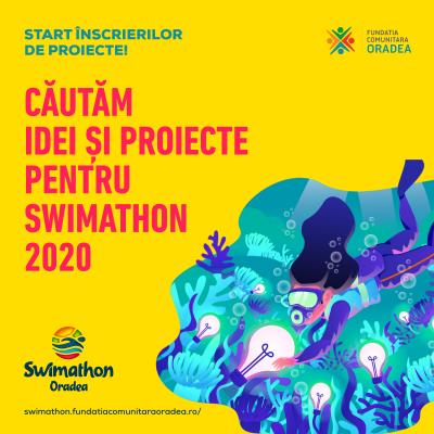 Swimathon 2020 - Start la înscrierea de proiecte