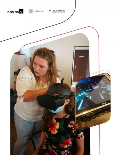 Autism Voice integrează în terapie Virtual Reality (VR), pentru prima oară în România