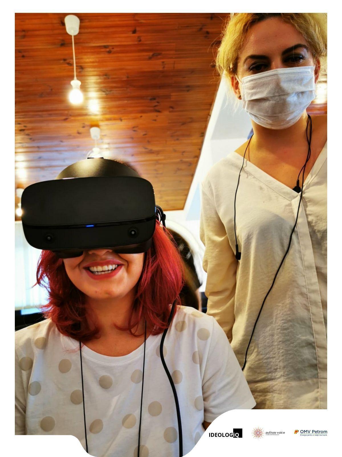 Realitatea virtuală pentru integrarea socială, pentru prima oară în România!