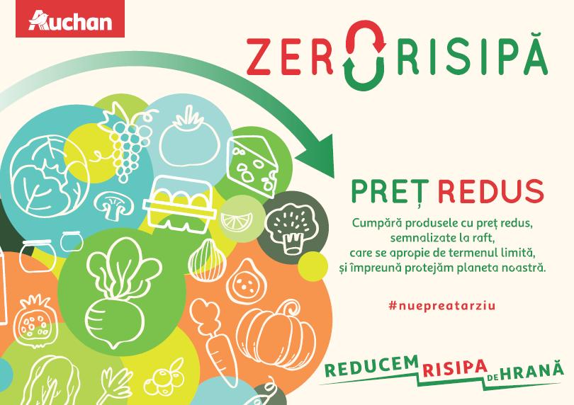 Zero Risipă, un proiect menit să combată risipa alimentară