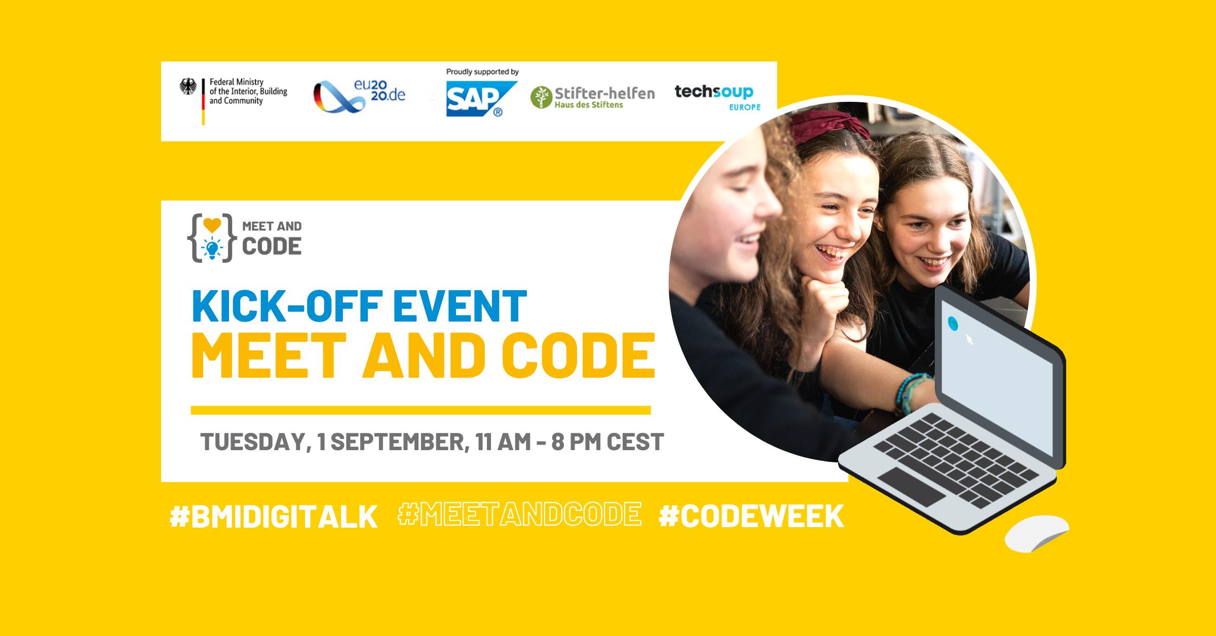 START Meet and Code 2020: 2 luni de evenimente online de programare È™i tehnologie