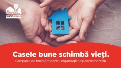 Fundația BricoDépôt anunţă proiectele care vor primi finanţare ȋn cadrul campaniei Casele bune schimbă vieţi