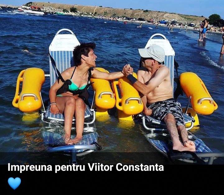 Plajă accesibilizată pentru persoanele cu dizabilităţi