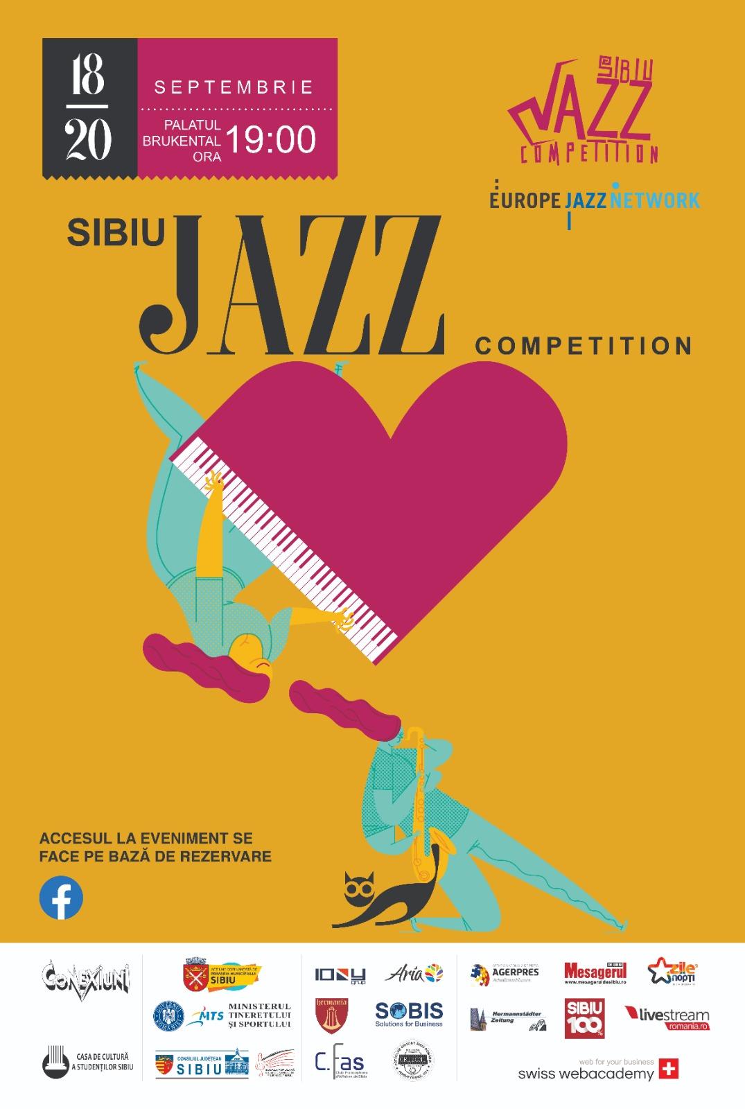 Sibiu Jazz Competition 2020, o emulație născută din pasiunea pentru muzică