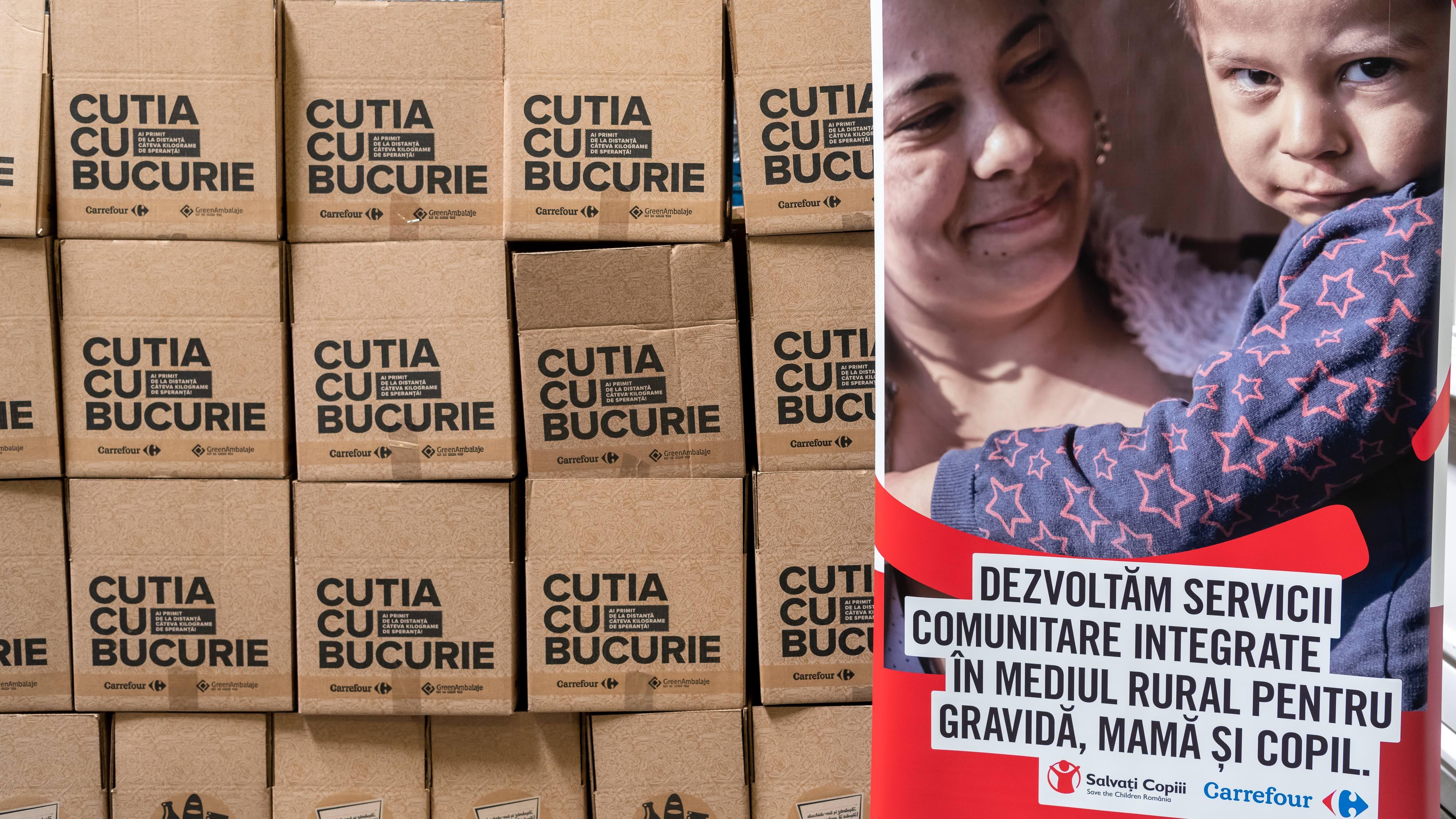 Peste 14.000 de produse alimentare vor ajunge în comunitățile vulnerabile prin Salvați Copiii România