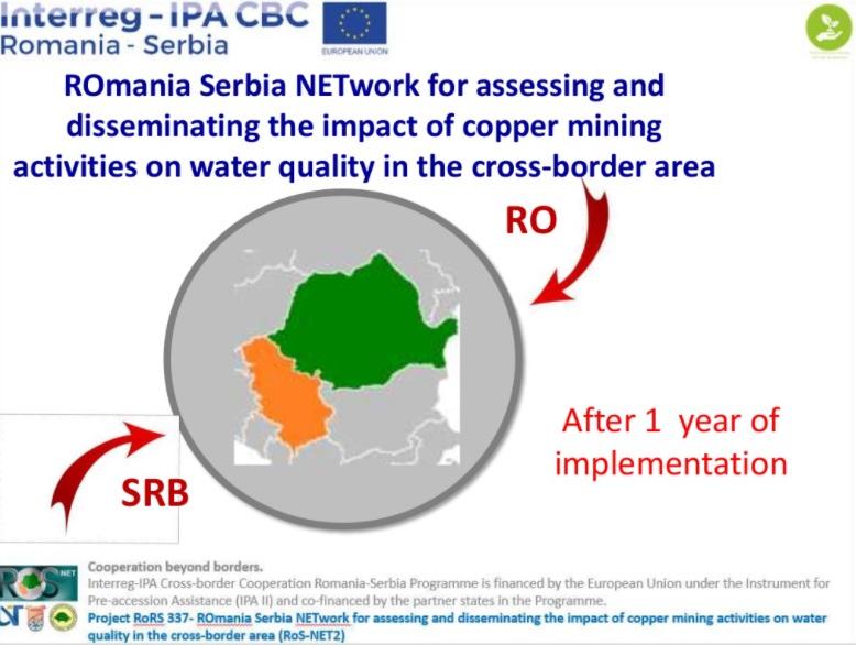 Rezultate după un an de implementare a proiectului privind găsirea de soluții pentru combaterea poluării cu metale grele în zona de frontieră dintre România și Serbia