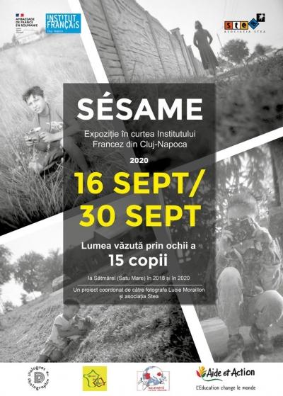 """Expoziție de fotografie """"Sésame – lumea văzută prin ochii a 15 copii�"""