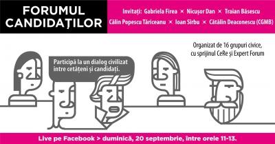 Forumul candidaților la Primăria București