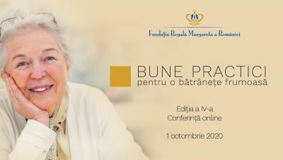 Specialiști din domeniul senectuții prezintă soluții de creștere a calității vieţii seniorilor, într-un eveniment on-line organizat de Fundația Regală Margareta a României