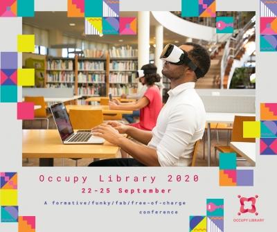 Occupy Library 2020 - locul unde inovatori de pretutindeni împărtășesc bune practici de lucru în bibliotecile publice