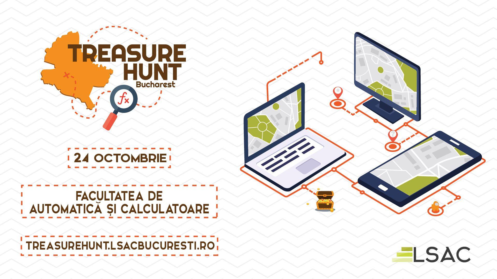 LSAC București vă invită la o vănătoare de comori online!