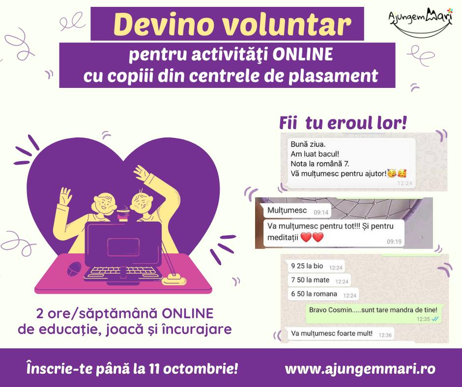 Copiii din centrele de plasament au nevoie de educaÈ›ie È™i de voluntari