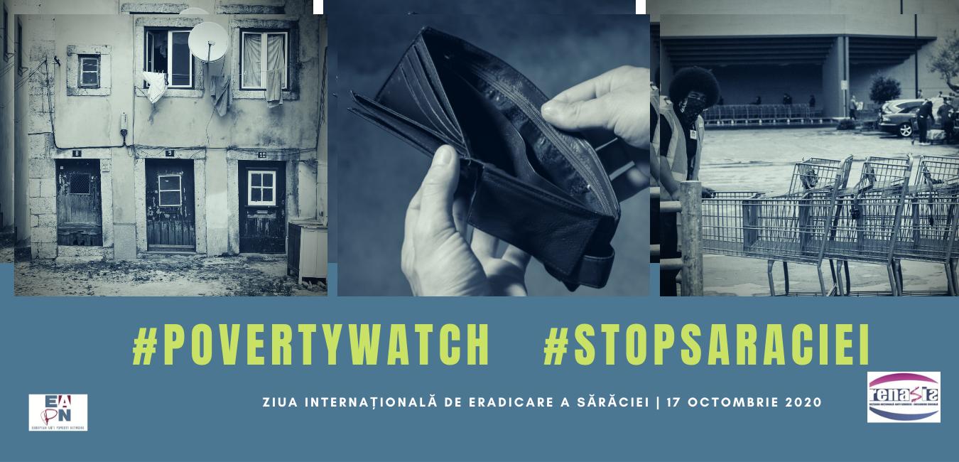 RENASIS marcheaza Ziua Internațională pentru Eradicarea Sărăciei prin lansarea Raportului Poverty Watch România