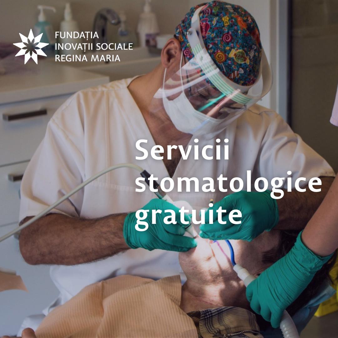 Peste 1.000 de servicii stomatologice gratuite sau la preţuri reduse pentru pacienți sociali