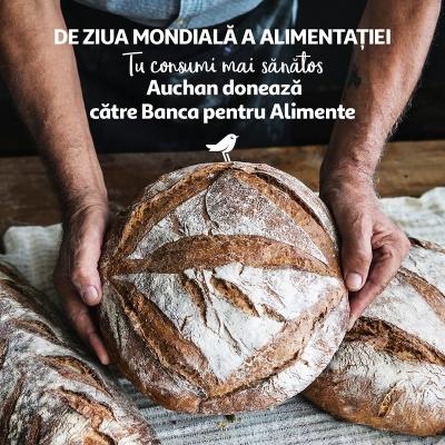 Veniturile din vânzările de pâine cu maia, donate către Banca pentru Alimente