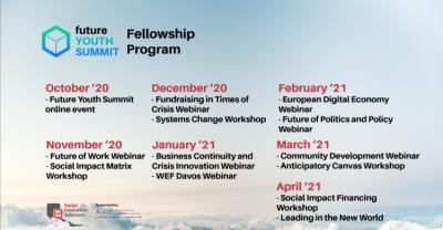 FUTURE YOUTH SUMMIT - aplicații deschise până în 10 octombrie pentru tineri excepționali pentru un Fellowship de 6 luni
