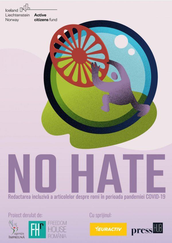 Freedom House extinde termenul de înscriere la concursul No hate – adresat jurnaliștilor care scriu despre comunitatea romă