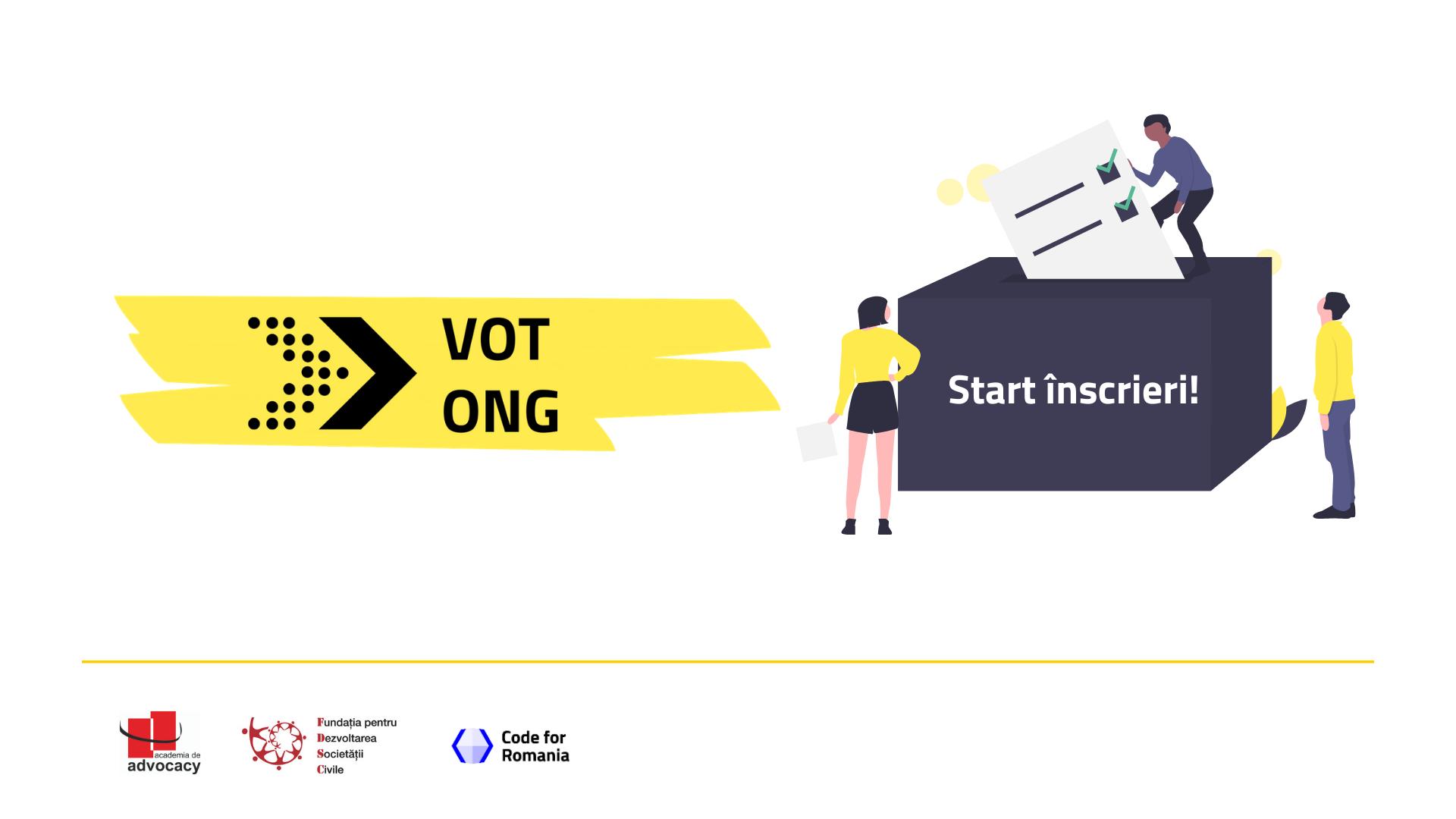 Toate ONG-urile din România sunt invitate să se înscrie pe VotONG.ro