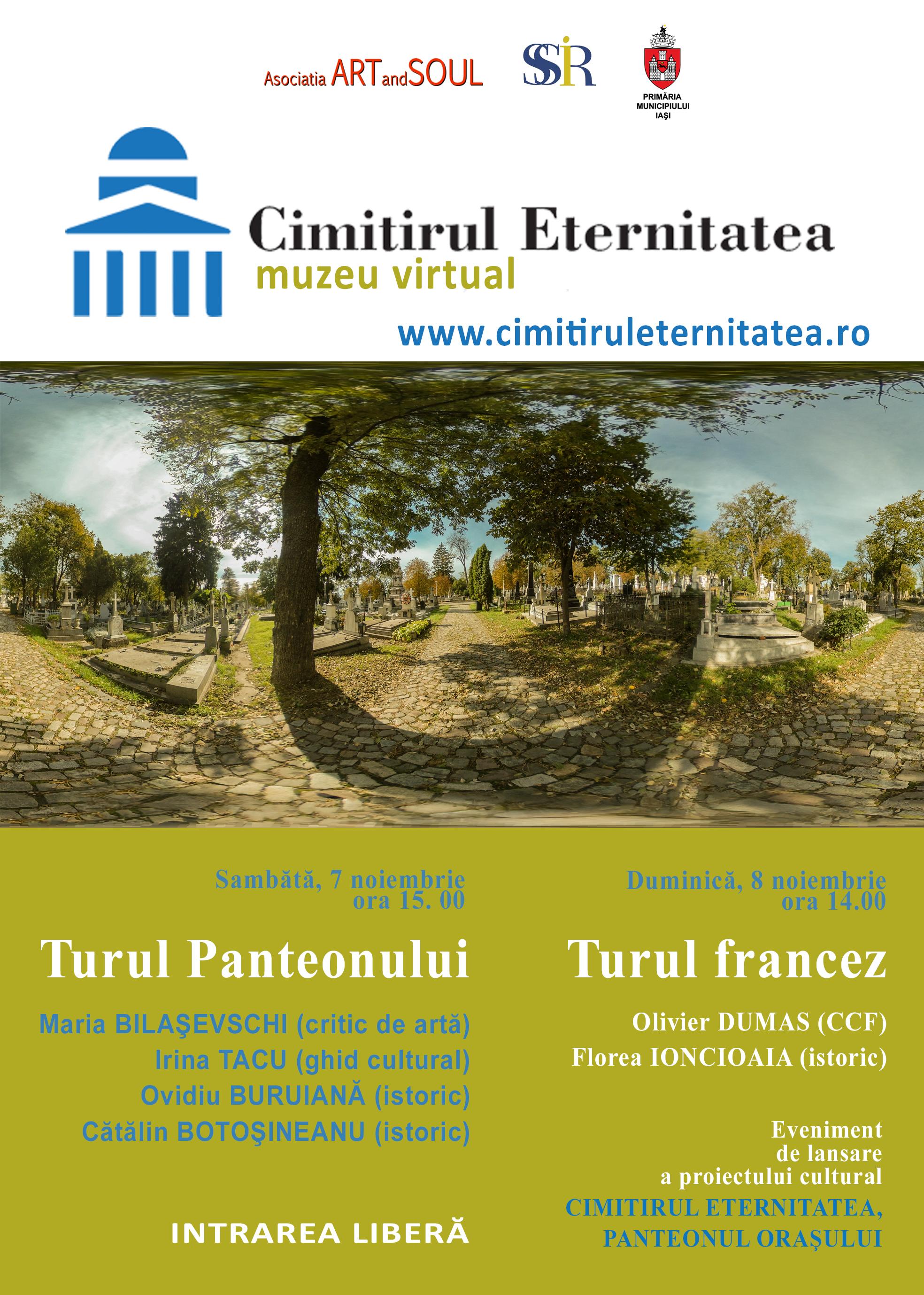Premieră în România, o plimbare virtuală, prin intermediul imaginilor 360, printre monumente www.cimitiruleternitatea.ro