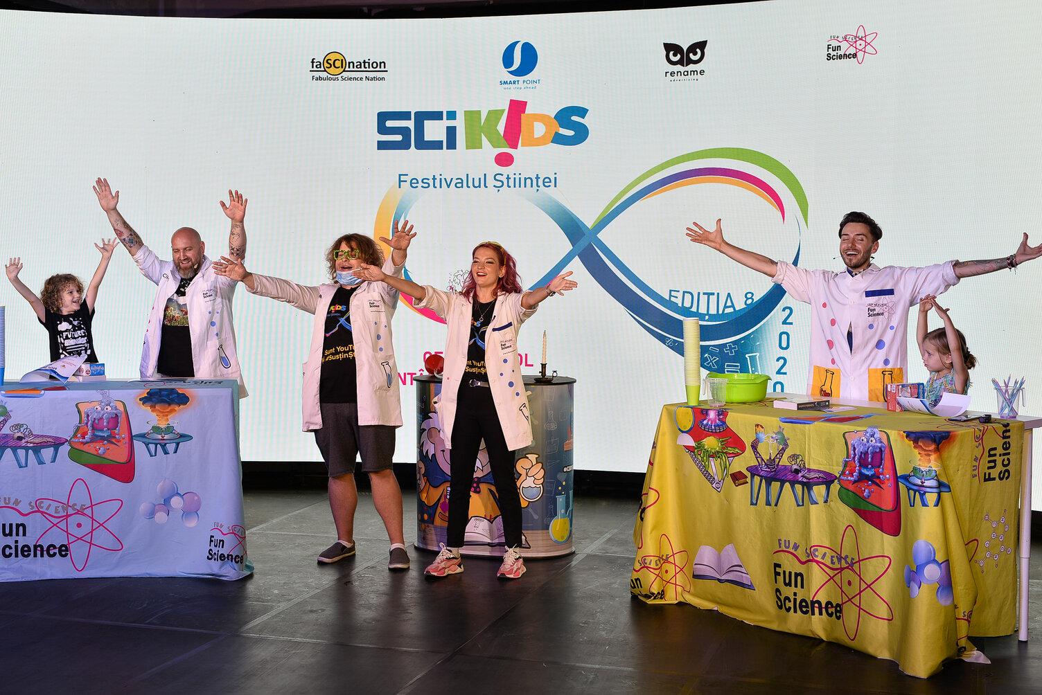 Cel mai mare festival al științei dedicat copiilor se întoarce - SCIKiDS ediția 8 are loc pe 28 și 29 noiembrie